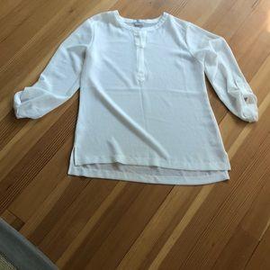 🍁Van Heusen🍁 white blouse